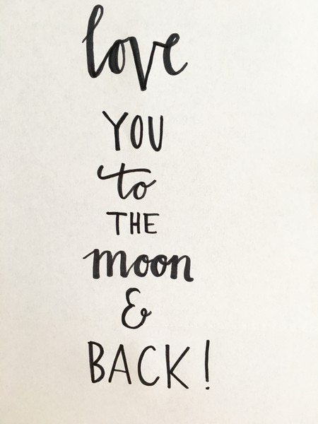 love you to the moon and back 1