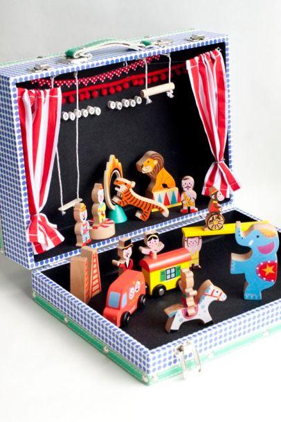 DIY Zirkus Koffer