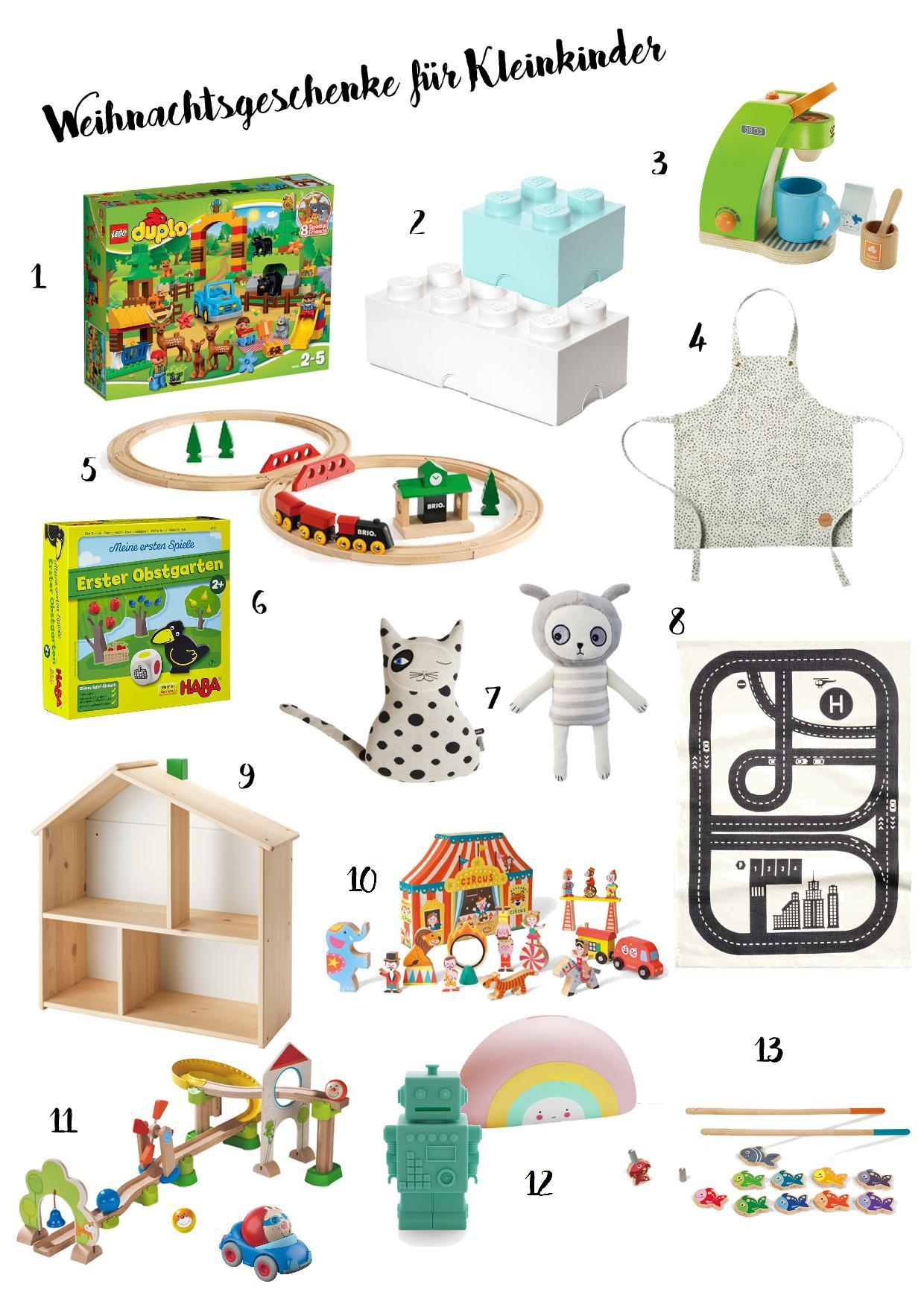 Weihnachtsgeschenke für Kleinkinder   Fräulein Tiger
