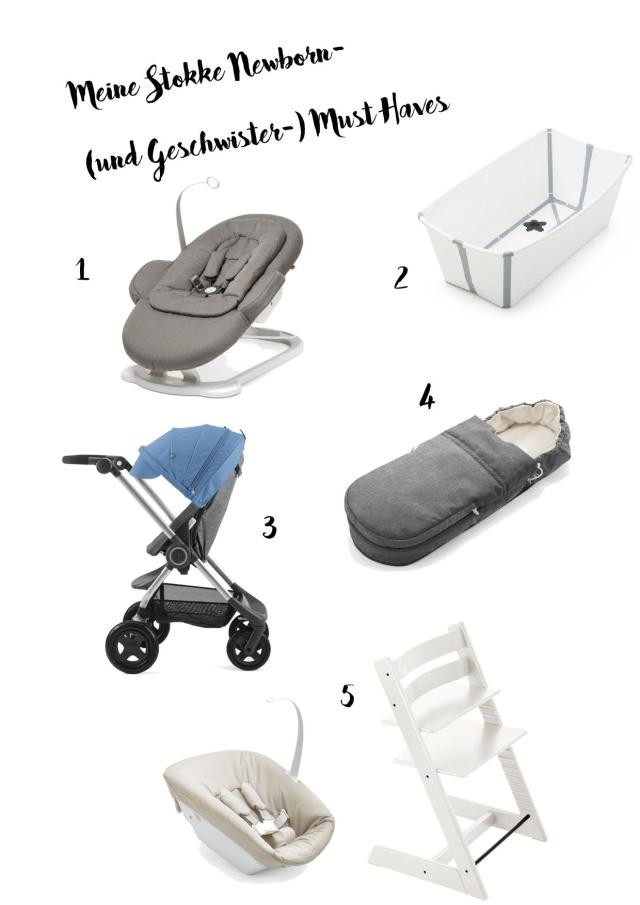 Stokke Newborn Must Haves