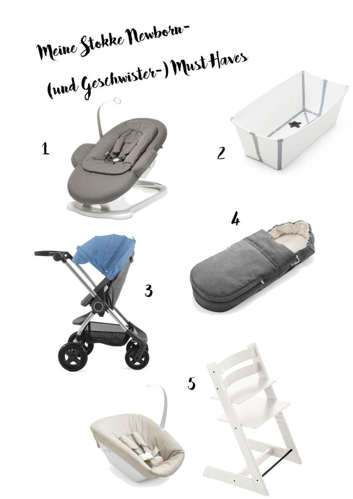 Stokke Newborn Must Haves