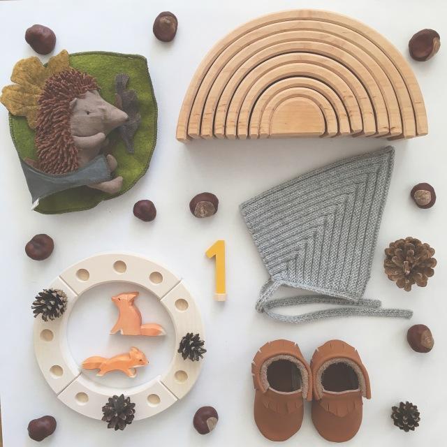 Geschenke zum ersten Geburtstag / Herbstkind