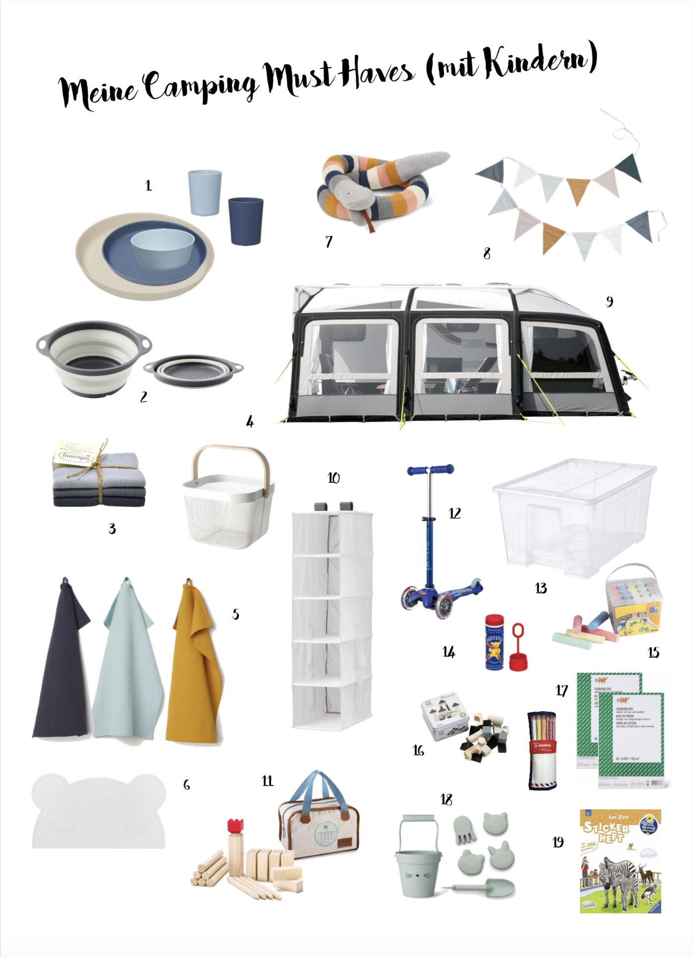 Camping Must Haves
