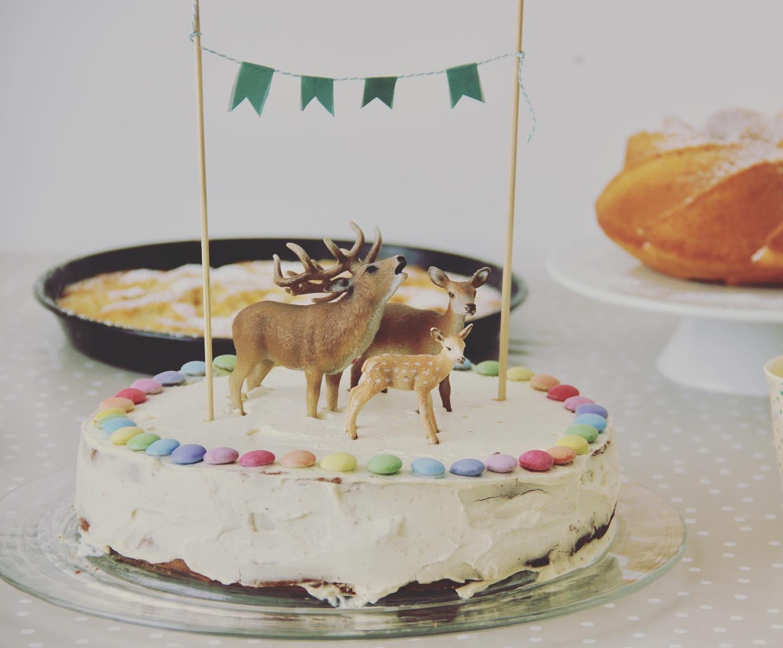 Geburtstagskuchen Smarties Kuchen