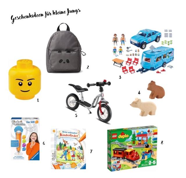 Geschenkideen für kleine Jungs